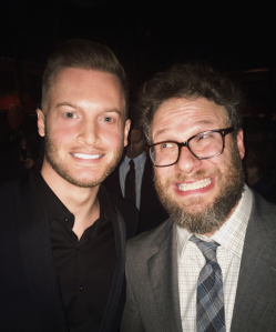 John Powers Middleton with Seth Rogen